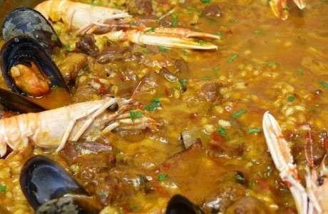 paella de peix i marisc