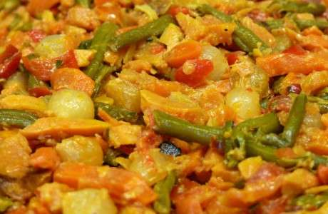 Curri de verdures