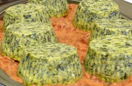 Pastís d'espinacs i formatge